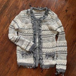 Zara knit cardigan jacket